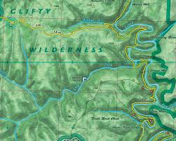 Clifty Falls State Park Map by Outragegis Mapping Gallery Of Maps