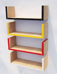 Simple Wooden Shelf Plans by Wall Shelves Design Modern Wall Mounted Book Shelving Wall