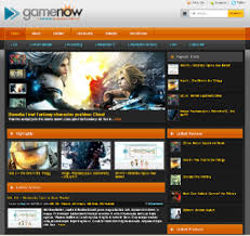 gamenow premium blogger template download