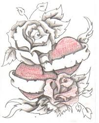 rose heart tattoo by itachis little on deviantart