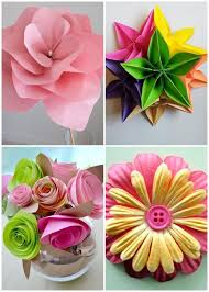 Making Of Flowers With Paper - diy paper flower designs android apps on google play