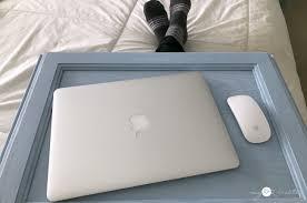 Diy Lap Desk Repurposed Cupboard Door Lap Desk My Repurposed Life
