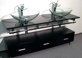 double bowl sink vanity double vessel sink vanity modern double sink bathroom vanity w three