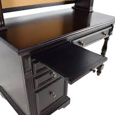 Solid Wood Computer Desk With Hutch by Furniture Office Wooden Desks Wood Computer Desk With Telephone