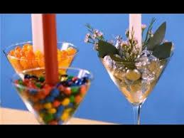 Martini Glass Centerpieces How To Make A Martini Glass Centerpiece Youtube