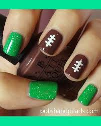 Food Nail Art Designs Show Your Team Spirit With These Football Nail Art Designs