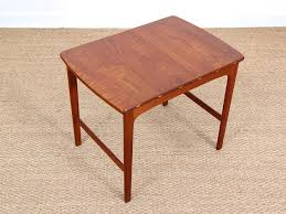 Teak Side Table Swedish Teak Side Table By Yngvar Sandström 1960s For Sale At Pamono