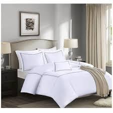 Black And White Comforter Full Gray Border White Cotton Comforter Set U2013 Sky Iris