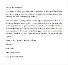 ending business letter the best letter sample