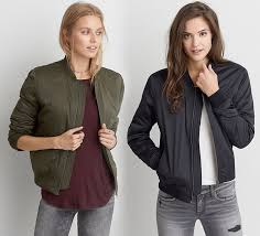 American Eagle Parka New Bomber Jackets For Fall At American Eagle Outfitters