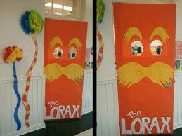 the lorax dr seuss door decoration myclassroomideas