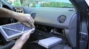 acura rsx 2002 2006 cabin air filter replacement youtube