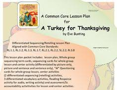a turkey for thanksgiving sequencing free prek 2nd grade