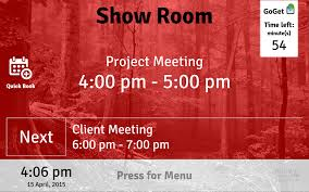 Text Room Meeting Room Display 4 Android Apps On Google Play
