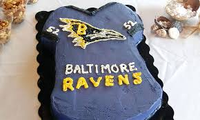 Meme Cake - bored ravens fans turned a terrible looking cake into a hilarious