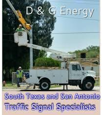 d g energy traffic signal light specialist contractors d g