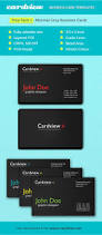 Biz Card Template Cardview Net Business Card Visit Card Design Inspiration