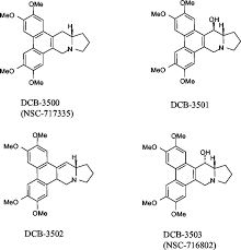 novel mode of action of tylophorine analogs as antitumor compounds