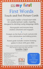 Fruit Of The Spirit Crafts For Kids - my first touch u0026 feel picture cards first words my 1st t u0026f