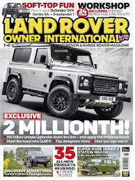 landrover owner august 2015 diesel engine motor vehicle