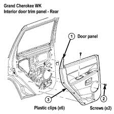 jeep grand cherokee wk interior trim removal