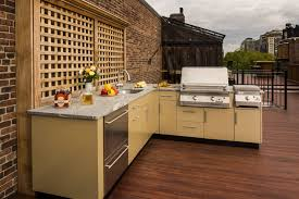 L Shaped Outdoor Kitchen by L Shaped Outdoor Kitchen Design Inspiration Danver