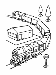 Rail Train Coloring Pages Free Printable Coloring Pages For Kids Rail Color Page