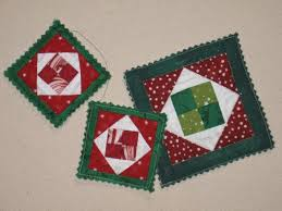 ornaments quilted ornaments quilted