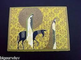 eyvind earle christmas cards limited edition prints eyvind earle deer walnut st