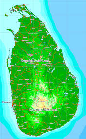 Map Of Sri Lanka Map Of Sri Lanka U0026 South India Peter Loud