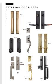 Exterior Door Knob Sets by Statement Interior And Exterior Door Knobs Room For Tuesday Blog