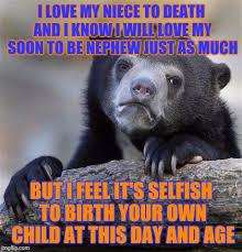 Niece Meme - confession bear meme imgflip