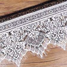 wide lace ribbon online shop nbhb 3 2 yards black white 25cm wide lace trim sewing