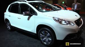 peugeot 2008 interior 2015 2016 peugeot 2008 leather edition exterior and interior