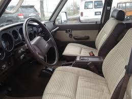 Toyota Land Cruiser Interior 1990 Toyota Land Cruiser Interior Pictures Cargurus