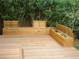 Storage Bench Seat Build by Best 25 Deck Storage Bench Ideas On Pinterest Garden Storage
