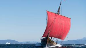 hawaiian voyaging canoe and viking longship meet for first time