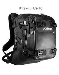 kriega r15 kriega r15 rucksack motorcycle rucksacks hydration luggage