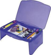 portable kids folding lap desk lap tray laptop table box storage