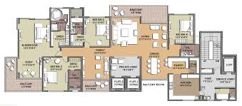 charming 4 unit townhouse plans 5 presentation drawing unit plan