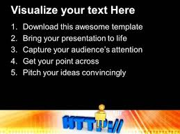 create your own web address powerpoint templates ppt backgrounds