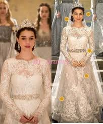 Vintage Lace Wedding Dress Lhuillier Royal Princess Wedding Dresses 2015 Vintage Lace A Line