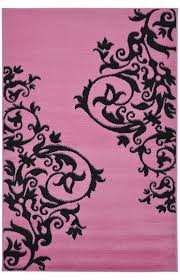 Pink And Black Rug 167 Best Tickle Me Pink Images On Pinterest Rugs Usa Home And