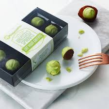 chocolate brussels sprouts by quirky gift library