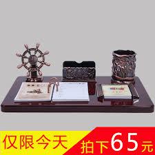 usd 73 00 2018 grade business calendar desk pen mahogany wood