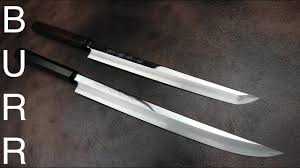 Japanese Kitchen Knives Traditional Japanese Kitchen Knives Or Samurai Katana Swords