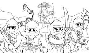 awesome ninjago coloring pages cartoon coloring pages of