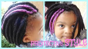 hairstyles for yarn braids natural hair braids for kids protective style yarn braids youtube