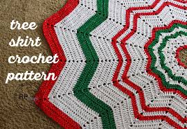 crochet tree skirt pattern free crochet pattern tree skirts