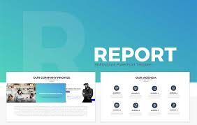Report Multipurpose Free Powerpoint Template Slidecompass Free Ppt